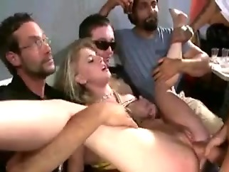 gangbang group sex public