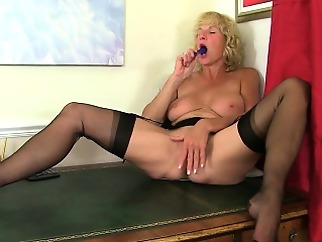 blonde british masturbation