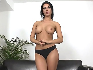 big tits brunette solo female