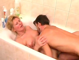 amateur blonde mature