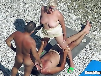 beach mature hidden camera
